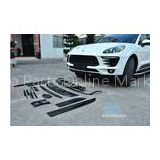 Carbon Fiber Body Kits for Porsche Macan Include Front Lip Rear Diffuser Side Skirts Spoiler