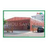 Movable Aluminum Large Commercial Tents 10x 10 Marquee Canopy Tent For Event