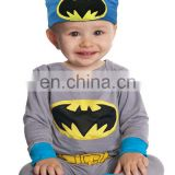 TZ881200 Hot Selling Baby batman Costume