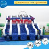 Brand new inflatable minions water park slides for sale bouncy house castle with low price