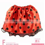 women adult Ladybird Costume Tutu Skirt for halloween performance wear