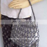 BEADED EMBORIDERY FASHION BAG