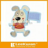 Cartoon The Little Dog With Flag Applique Embriodery Patch