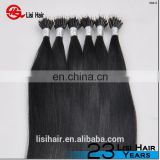 YBY Wholesale Price Hair Pre Bonded Hair Extension Keratin Tip Machine Hair Extensions