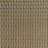 XY-1654 Brass Bead Decorative Woven Mesh