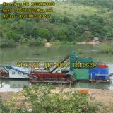 Bucket Chain Gold Dredger Boat 150m³/h 200m³/h High Performance