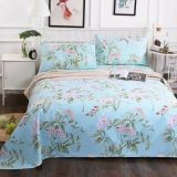 Printed Brushed Wide Width Polyester Microfiber Fabric for bedsheets, bed cover and mattress/brushed microfiber fabric