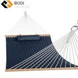 Outdoor Quilted Fabric Hammock with 12ft Wood hammock