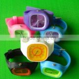 attractive jelly silicone watch customized logo silicone jelly watch silicone jelly watches with your own logo