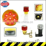 High Quality Red Solar Power Water Proof Led Barricade Light
