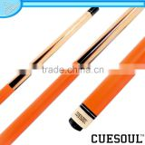 CUESOUL Quick Release 1/2 Pool Cue, Maple Shaft, Hardwood butt with Decal