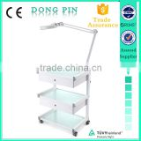 beauty salon equipment glass shelf trolley medical facial trolley wholesale                                                                         Quality Choice