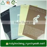 different color can be choose a4 size types of plastic folders RYX-L226