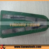 Metal Type Triangle Polishing Brick Abrasive Block (4 segments embed in bakelite)