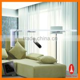Complete aluminium motorized curtain track system/ electric curtain track system for hotel