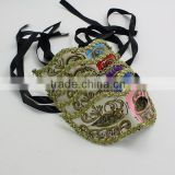 Supply fantastic adult men masquerade Mask cheap black party mask for sale different colors available