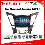 Wecaro WC-HS1050 10.2 inch android 4.4/5.1 car stereo for hyundai sonata in dash car gps navigation system With Wifi 3G Radio