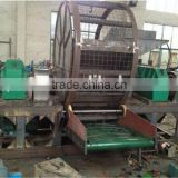 waste tyre high capacity single shaft tire shredder / used tire shredder machine for sale