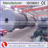 High efficiency mobile small crop rotary dryer with high performance
