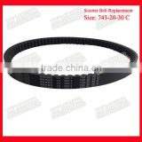 Size 743-20-30 Genuine Bando Scooter Motor Belt for GY6-150
