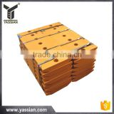 new style spare parts professional cutting edges for mini dozer
