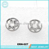 2016 Fashion New Five-Pointed Star Shape Of Alloy Stud Earrings Wholesale Alloy Stud Earring