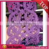 2016 popular 10cm nylon lace trim for national costume garment decorations                                                                         Quality Choice