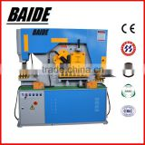 Q35Y Hydraulic iron worker ,stainless steel plate cutting machine ,stainless steel plate punching machine 100ton