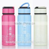 CE / EU,FDA,LFGB,SGS Certification custom logo BPA free sport water bottle double wall stainless steel vacuum flask