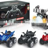 1:12 4D Simulation Gravity induction Gravity Motorcycle Remote Control Beach Charging Electric Toy Car