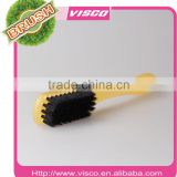Good quality best sale pig bristle and plastic shoe brush VI9-77