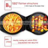 LR-328A healthy food electric grill flat pan