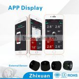 Smartphone car sensor wireless tire pressure monitoring system, tpms, bluetooth tyre pressure                                                                         Quality Choice