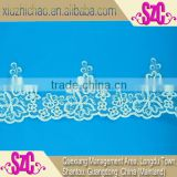 XZC12015 new arrival factory wholesale embroidery african guipure lace fabric