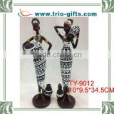 Egyptian polyresin women statue for indoor decoration