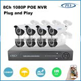 plv wholesale poe ip camera nvr poe 8 channel outdoor ip camera system