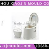 High quality portable separated plastic toliet mould for elder , children , or put in the car during travelling