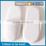 ToBest Hotel disposable supplies Wholesale Disposable hotel Slippers with non-slipping rubber EVA Soles