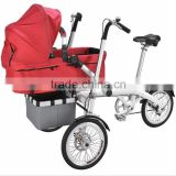 Aluminum Alloy High Quality Baby Stroller Tricycle Foldable Mother And Child Bike