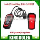 Wholesale Price Original Autel Code Scanner Maxidiag Elite MD802 for All System Update Online