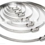 304 stainless steel hose hoops, all steel clamp, pipe hoop, fixed pipe clamp, strong coupling, fast loading pipe clamp