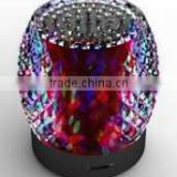 Trendy and portable mini shiny bluetooth speaker on sale. Attractively styled handfree speaker!