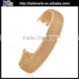Fashion Cheap 18K Gold Plated Bangles Rose Gold Fake Gold Bangle