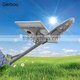 New design competitive IP65 cool white 4000 lumens 40W LED solar outdoor lighting solar led street light with light control