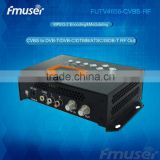 FUTV4656C DVB-T/DVB-C(QAM)/ATSC MPEG-2 SD Encoder Modulator (Tuner,CVBS in; RF out) with USB Record/Save/Playback for Home Use