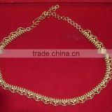 Retailer Of indian Gold Waist Chain>Crystal Waist Chain Jewellery