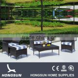 Factory price royal rattan slate outdoor furniture set