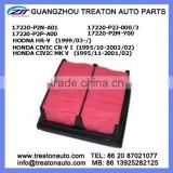 AIR FILTER 17220-P2N-A01 17220-P2J-000/3 17220-P2P-A00 17220-P2M-Y00 FOR HONDA HR-V 99- CIVIC CR-V I 95-02 CIVIC MK V 95-01