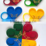 colorful acrylic cup holder, acrylic coaster holder