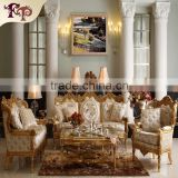 luxury rococo design furniture hand carving classic living room sofa set                                                                         Quality Choice